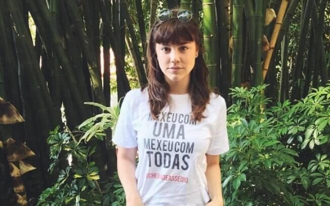 Alice Wegmann, que atuou com José Mayer em