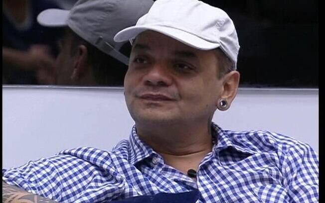 João Carvalho teve o pior desempenho na Prova da Comida