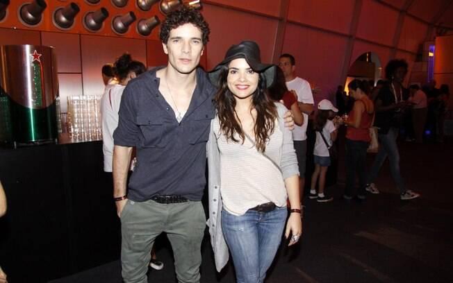Daniel de Oliveira e Vanessa Giácomo no Rock in Rio