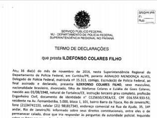 """""""Conheço o João Vaccari do PT, na época em que eu estava na empresa"""""""
