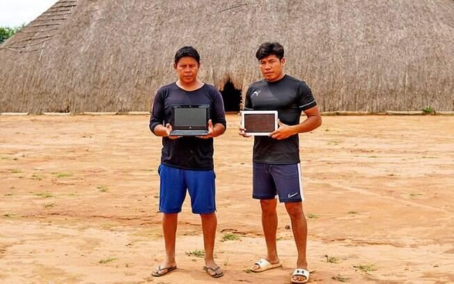 Inclusão: Unicamp fornece equipamentos para estudantes indígenas no Xingu