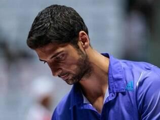 Bellucci voltará às quadras, no Aberto do Rio, na próxima segunda-feira