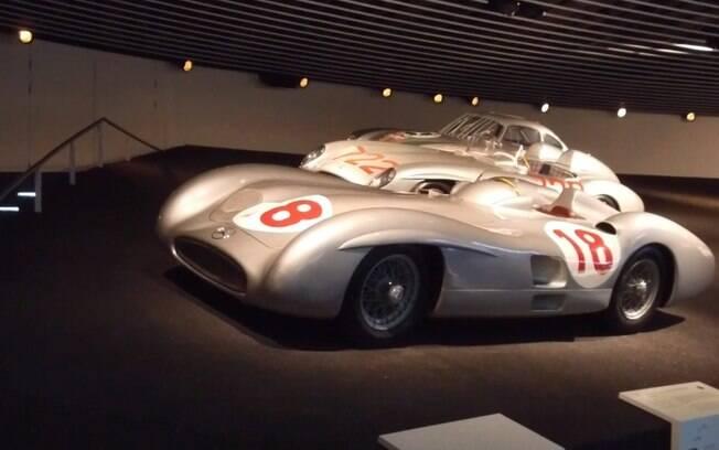 O emblemático W196 marca presença no Museu da Mercedes-Benz