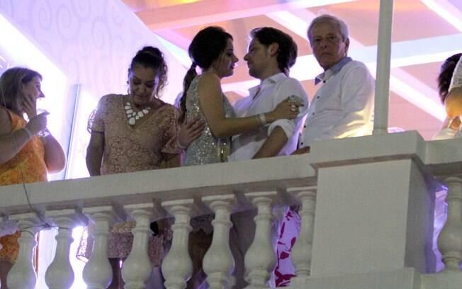 Fernanda Machado e Robert Riskin