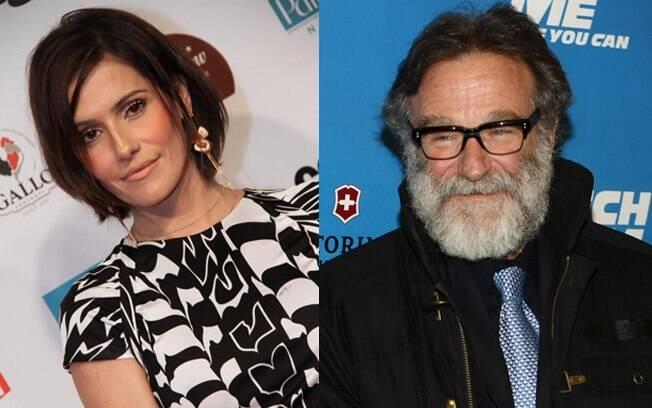Deborah Secco e Robbin Williams podem atuar juntos em Hollywood