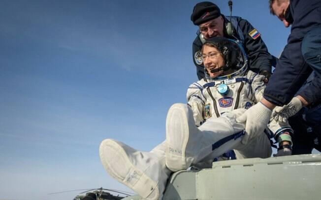 O retorno da astronauta Christina Koch
