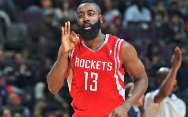 O Houston Rockets, de James Harden, foi o líder da Conferência Oeste na temporada regular da NBA 2017/18