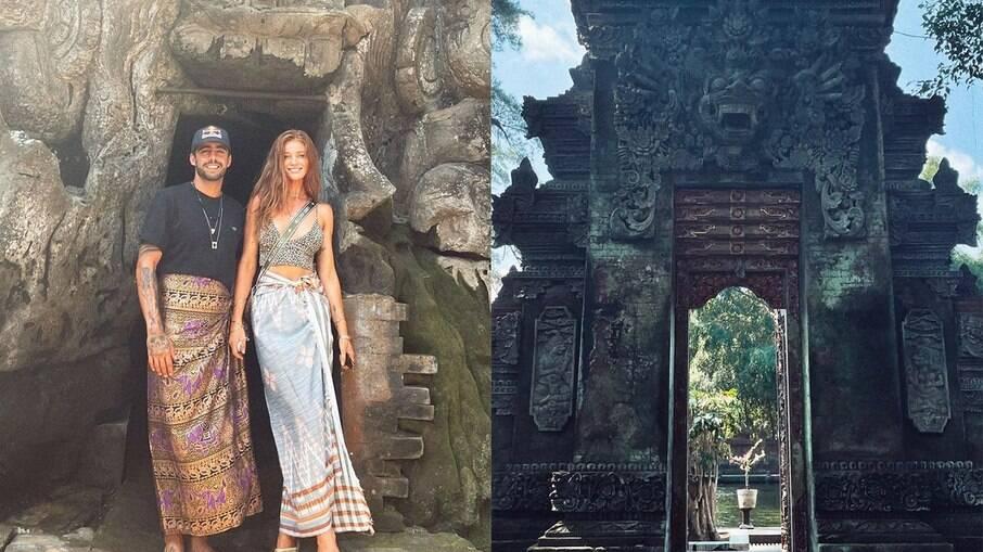Cintia Dicker e Pedro Scooby na Indonésia