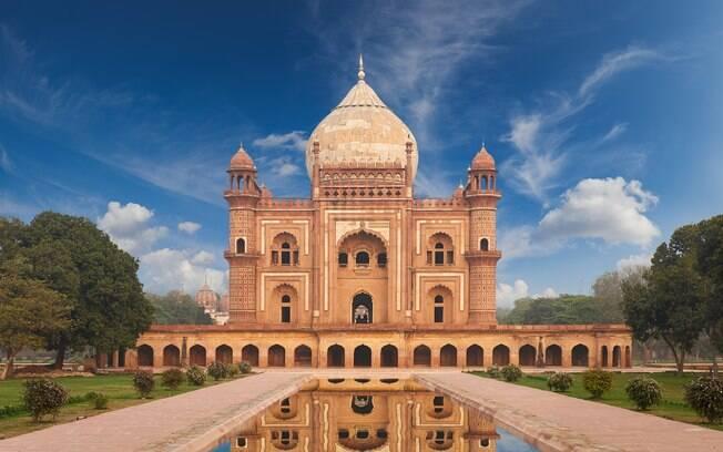 A cidade de Nova Deli é, junto com Mumbai, a principal porta de entrada de turistas na Índia