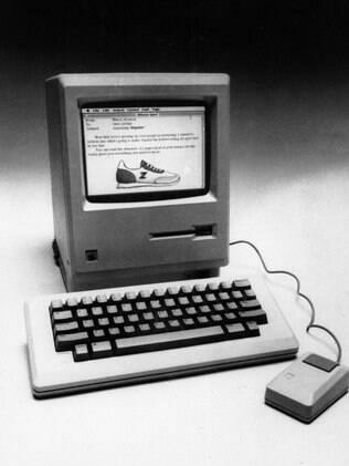 Macintosh foi lançado em 24 de janeiro de 1984