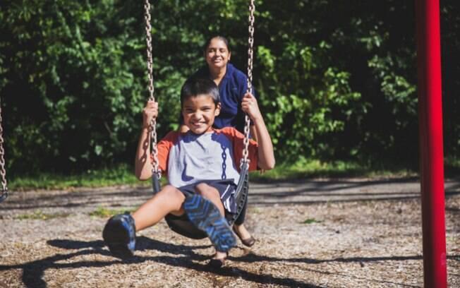 Joaquin, de 10 anos, foi diagnosticado aos 7
