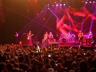 Magazine - Belo Horizonte - MG Show da cantora Avril Lavigne em Belo Horizonte  FOTO: FERNANDA CARVALHO / O TEMPO - 03.05.2014