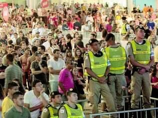 Shows ontem na Gameleira não mobilizaram o mesmo público dos outros dias na Fan Fest de Belo Horizonte, mas, ainda assim, muita gente se animou a curtir as atrações musicais