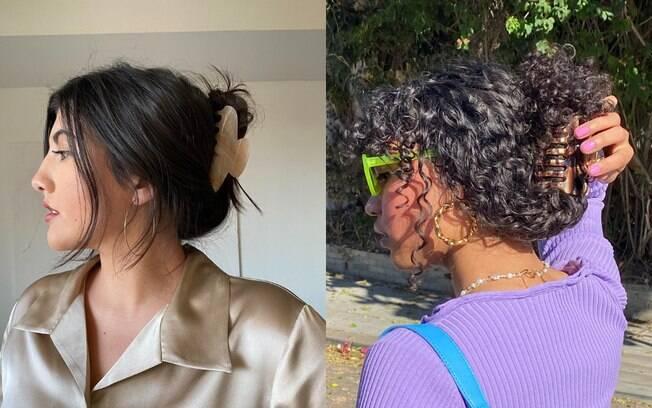Piranha de cabelo: saiba como usar o assessório dos anos 2000