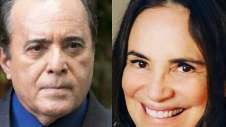 Tony Ramos acha que Regina Duarte se iludiu com Bolsonaro