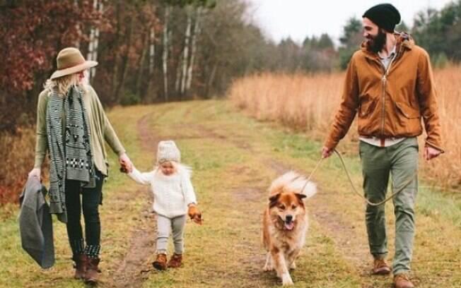 Os hormônios produzidos por um adulto em contato com o filho são praticamente os mesmo dos produzidos no contato com o cachorro filho