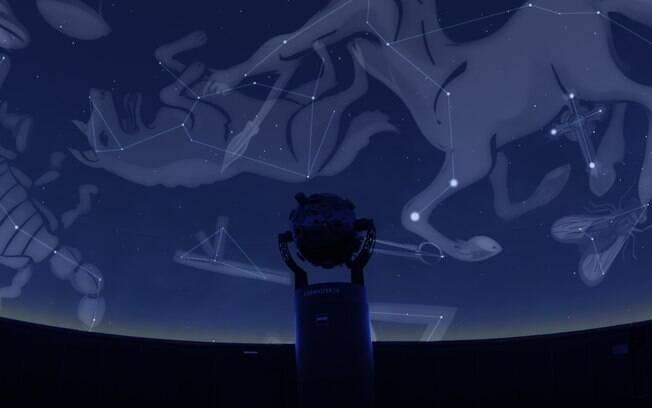 Inaugurado em 4 de abril deste ano, planetário em Santo André é o mais moderno do país