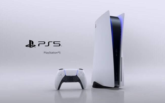 Design oficial do PlayStation 5