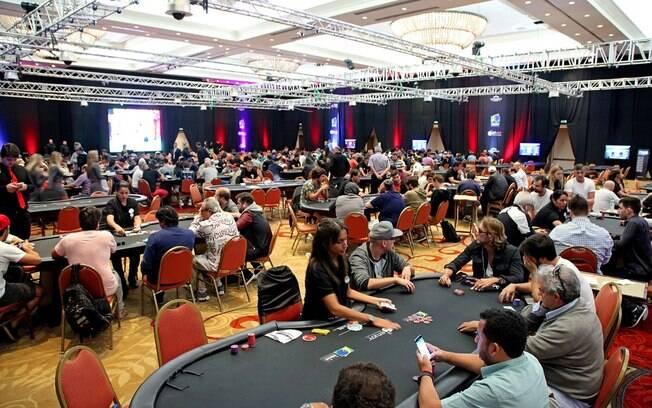 Estreia do BSOP, o Brasileirão de poker