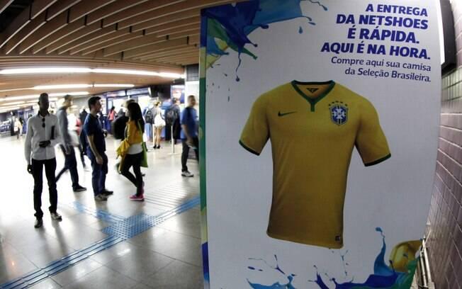 ae48292818 Camisas da Seleção Brasileira custam R  229