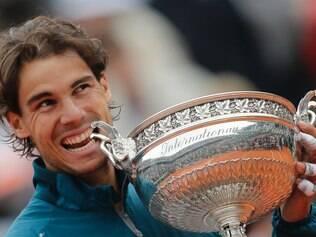 Nadal tem apenas uma derrota em Roland Garros, em 2009, para o sueco Robin Soderling