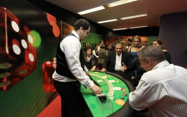 A Roulette Night contará com os tradicionais jogos de um cassino de verdade, como o Black Jack