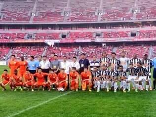 Edcarlos, Ronaldinho e Diego Tardelli marcaram os gols da vitória do Atlético sobre o Guizhou