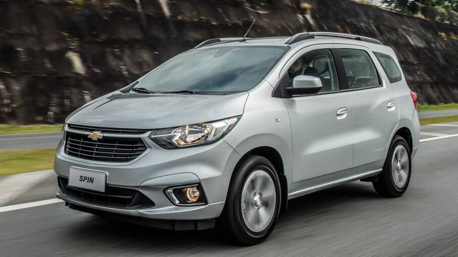 Chevrolet Spin 2022: minivan está prestes a completar 10 anos no Brasil com a mesma base e mudanças no visual