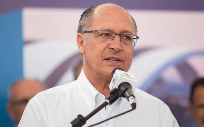 Governador de São Paulo, Geraldo Alckmin participou do evento de aniversário do Instituto Butantan