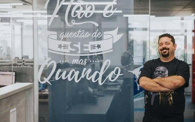 Márcio Motta trabalhou por dois anos de madrugada para desenvolver a Monetizze, empresa de tecnologia que une produtores  e afiliados na internet