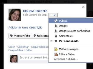 Facebook agora permite controle de privacidade individual de fotos do perfil