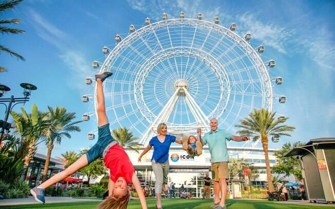 ICON Orlando é a mais alta roda gigante na costa leste dos Estados Unidos