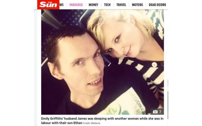 Ellen e James se casaram em 2015, depois de 6 anos de namoro. E ela descobriu uma traição dele logo depois de dar à luz filho do casal