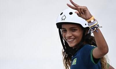 Mãe de Rayssa Leal, prata no skate, recebe R$ 171 do Bolsa Família