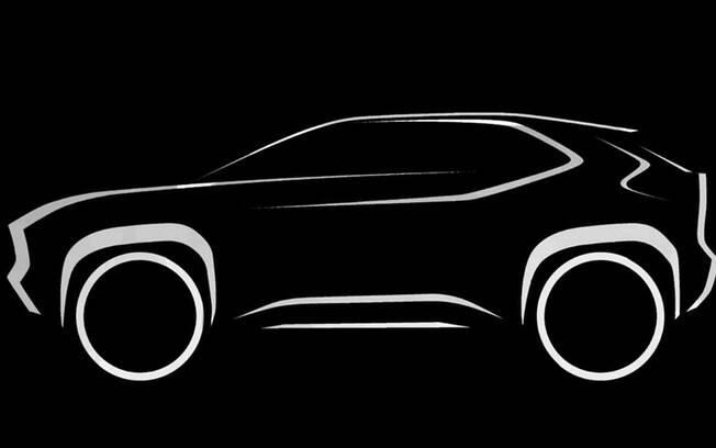 SUV da Toyota que conta com a mesma plataforma do compacto Yaris faz parte da ofensiva da marca no segmento