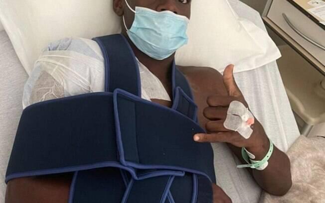 Ex-Fluminense sofre grave lesão
