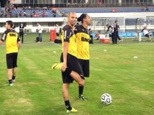 Ronaldinho Gaúcho segue focado na intertemporada e afirma que vai seguir no Atlético