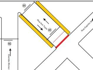 Esta é a segunda vez somente nesta semana que há alteração no trânsito da rua Tupis para obras da Copasa