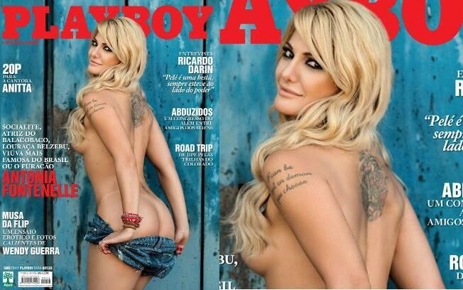 Capa Da Edi O De Julho Playboy Foto Divulga
