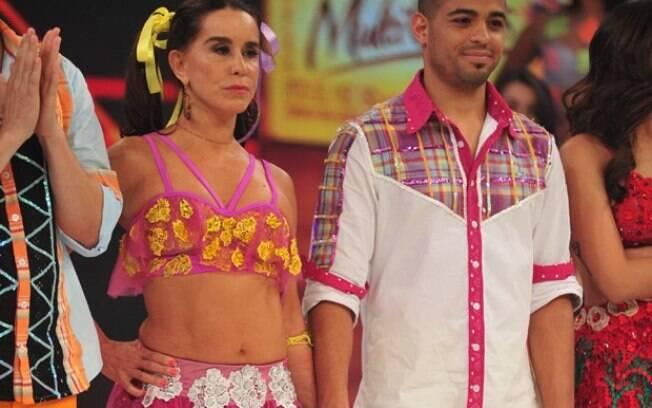Lucélia Santos vai para a repescagem