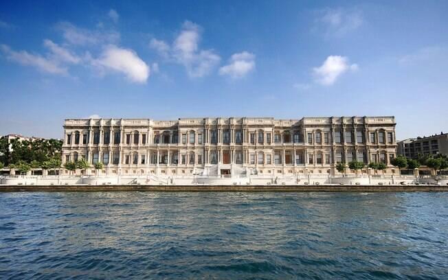 Palácio de Ciragan, na Turquia, pertencia ao Império Otomano