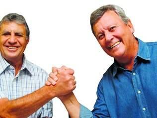 Que dupla! Piazza e Raul participaram de grandes duelos com o Inter no passado