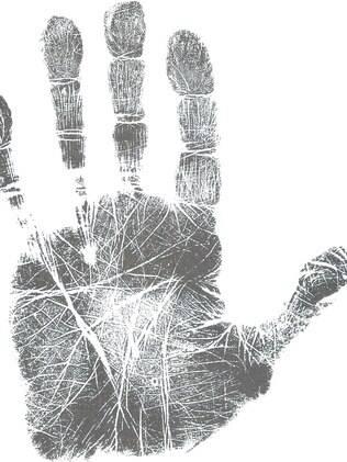 Intensas linhas da mão