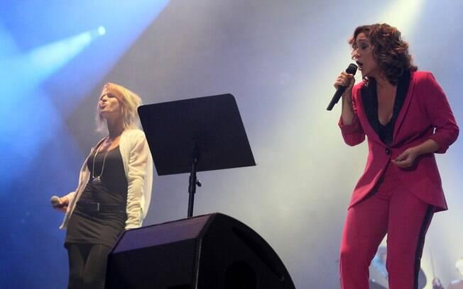 Show de Maria Rita e Selah Sue no Rock in Rio 2013