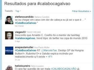 #calabocagalvão fez sucesso durante a Copa