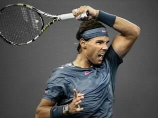 Nadal venceu Wawrinka por 2 sets a 0, com parciais de 7/6 (7/5) e 7/6 (8/6)