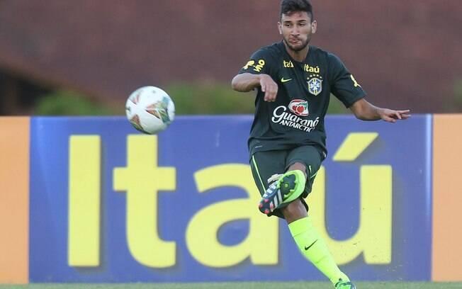 O meia Boschilia foi cortado neste domingo da seleção brasileira sub 20 que irá disputar o Sul-Americano da categoria