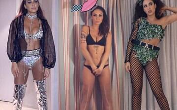 Shows e looks ousados marcam o carnaval de Alinne Rosa