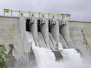 A geração de energia por hidrelétricas foi afetada pela seca