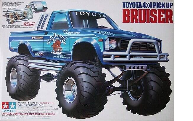 Assim eram vendidas as Toyota de controle remoto nos anos 80, sonho de consumo de muitos jovens na época